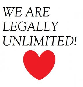 We Are Legally Unlimited Spread The Word